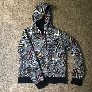 Volcom Multi-colored Skate Sweatshirt Sz XL